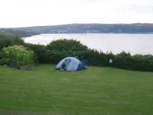 Fishgaurd Bay Camp ground