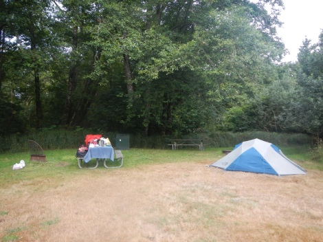 Our last campsite for this trip