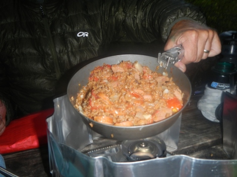 A hot dinner solves many ills