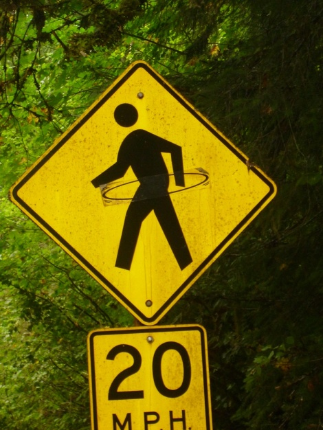 Slow for professional Hula Hoopers ahead