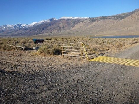 Mann Lake in the morning. Open despite the government shutdown!