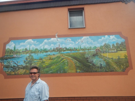 Wall mural of the Elbe