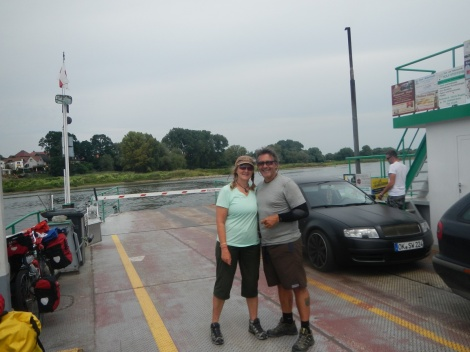 On the Ferry from Tangermunde