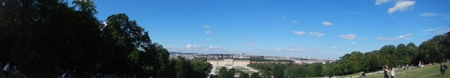 Vienna skyline from the Summer Palace