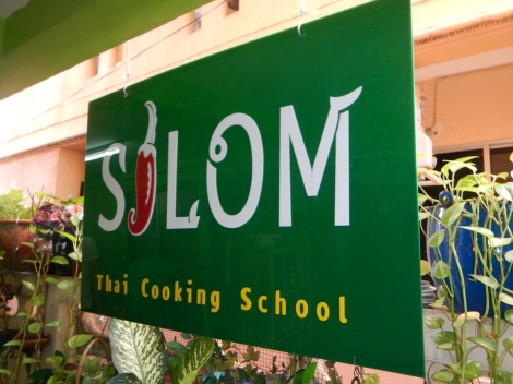 Silom Cooking School in Bangkok.