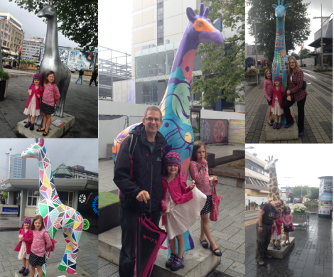Giraffes - Stand Strong in Christchurch
