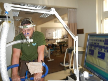 JS getting his VO2 on