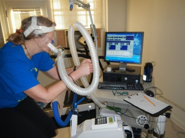JP getting her VO2 on.