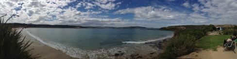 Porpoise Bay (in Curio Bay Park)