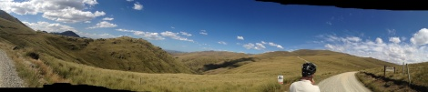 The view from high on Danseys Pass