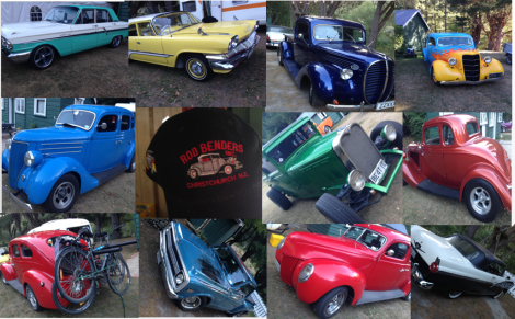Some of the Hot Rod Cars