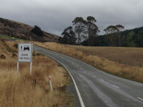 On the road from Geraldine to Fairlie.