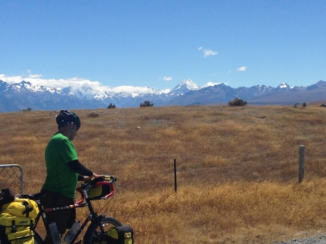 Jay and Mt Cook