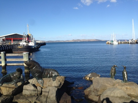 Hobart water front.