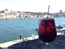 Sangria on the Rio Douro in Porto