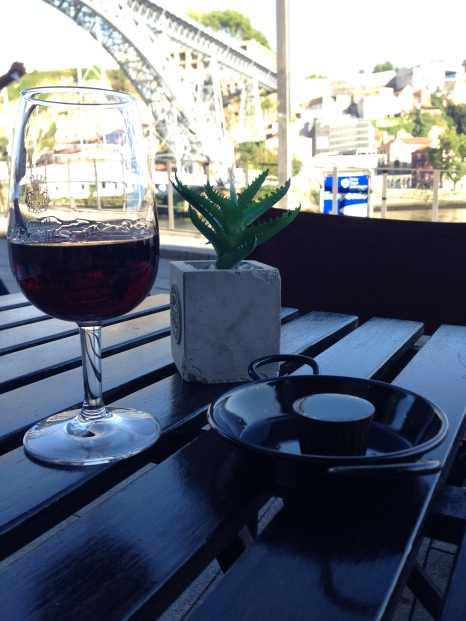 Yep. Port and Port in a chocolate cup in Porto